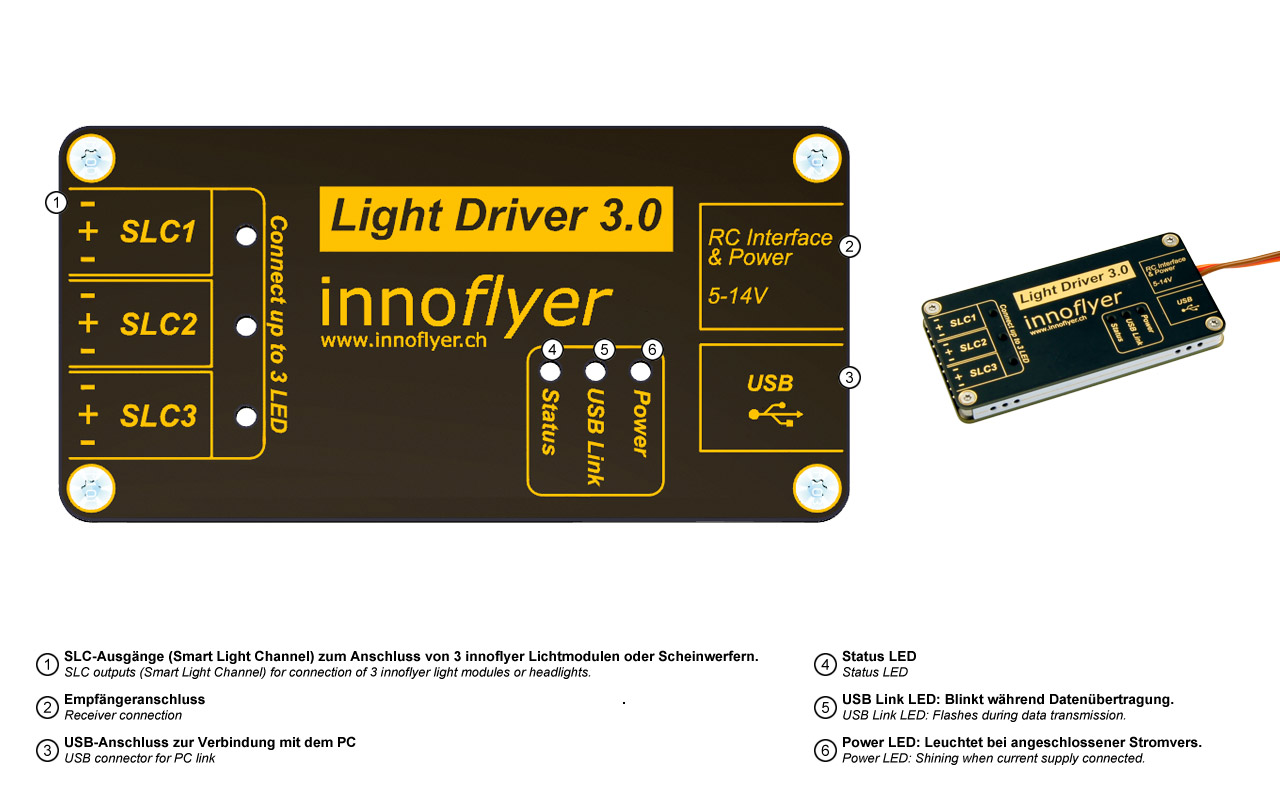 Light control unit Light Driver 3.0 - Image 2